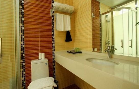 Bagno in camera Xingyi Hotel Guannan Middle Renmin Road