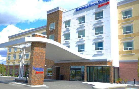 Vista esterna Fairfield Inn & Suites Edmonton North