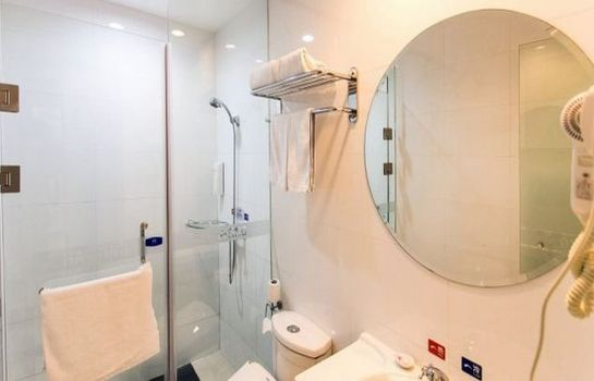 Bagno in camera Hanting Hotel North square of The train station Branch