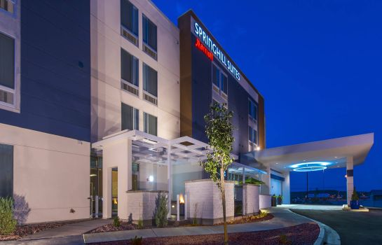 Exterior view SpringHill Suites Gallup