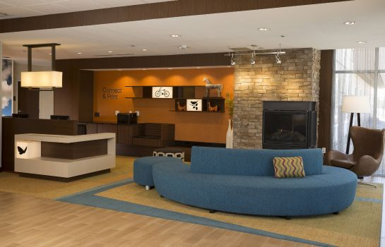 Hol hotelowy Fairfield Inn & Suites Durango