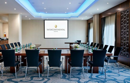 Conference room InterContinental Hotels DOHA RESIDENCES