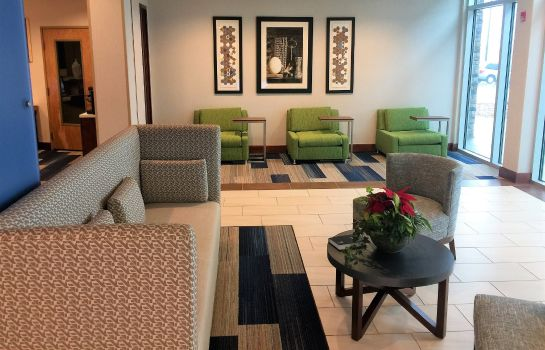 Hotelhalle Holiday Inn Express & Suites DANVILLE