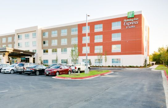 Vista exterior Holiday Inn Express & Suites RUSSELLVILLE