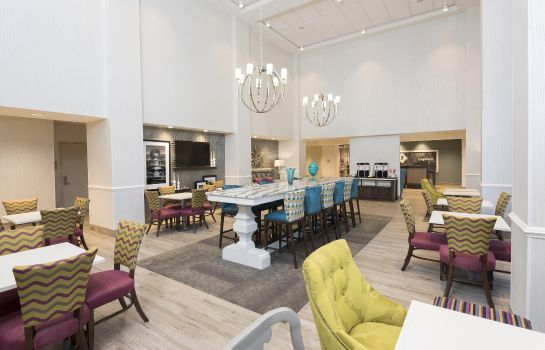 Restaurante Hampton Inn - Suites by Hilton Chicago Schaumburg IL