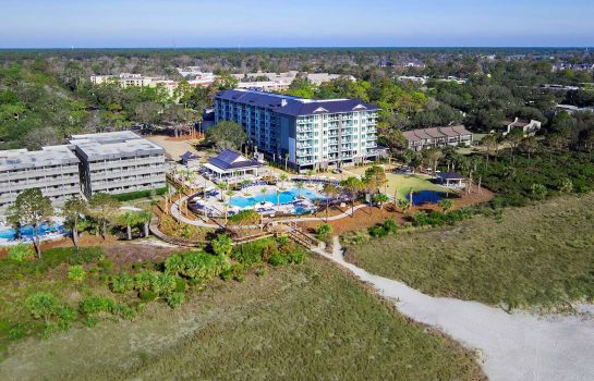 Buitenaanzicht Ocean Oak Resort by Hilton Grand Vacations