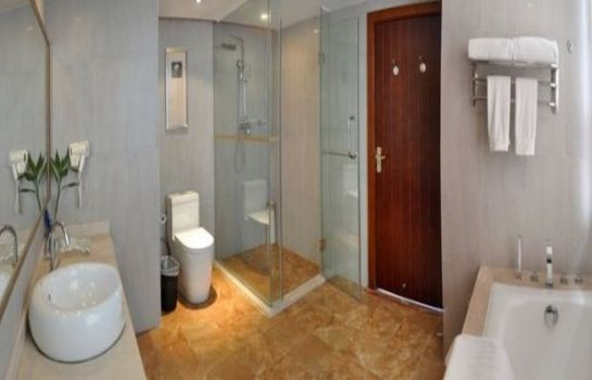Bagno in camera Yinlian International Hotel