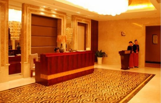 Vista all'interno Linwu International Hotel