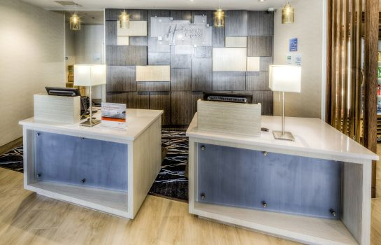 Vestíbulo del hotel Holiday Inn Express & Suites CLEVELAND WEST - WESTLAKE