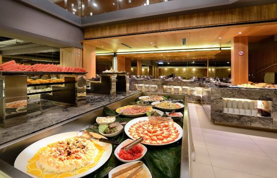 Buffet prima colazione Park City Hotel Hualien Vacation