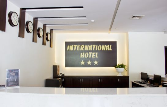 Reception International Hotel