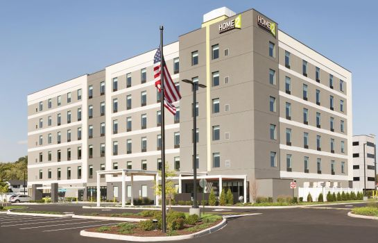 Vista exterior Home2 Suites By Hilton Hasbrouck Heights