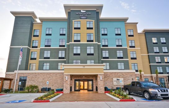 Vista esterna Homewood Suites By Hilton Galveston