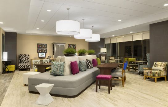 Lobby Home2 Suites By Hilton Hasbrouck Heights