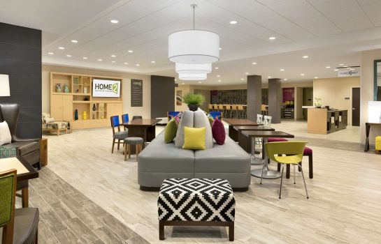 Hotelhalle Home2 Suites By Hilton Hasbrouck Heights