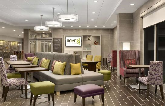 Hall de l'hôtel Home2 Suites by Hilton Greenville Downt