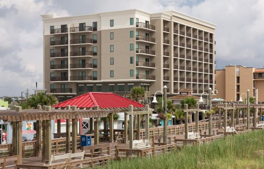 Außenansicht Hampton Inn - Suites by Hilton Carolina Beach Oceanfront