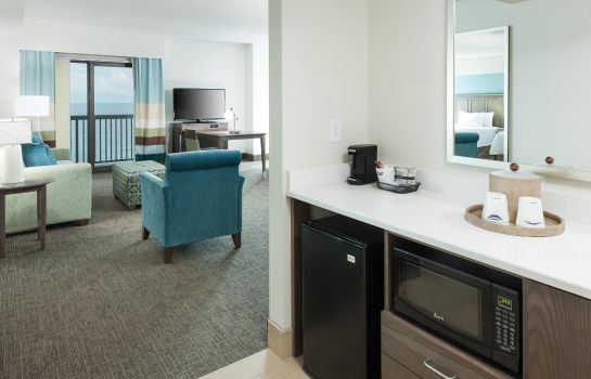 Bar hotelowy Hampton Inn - Suites by Hilton Carolina Beach Oceanfront