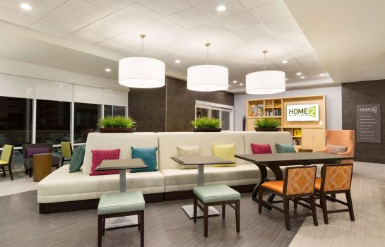 Vestíbulo del hotel Home2 Suites by Hilton Houston Stafford
