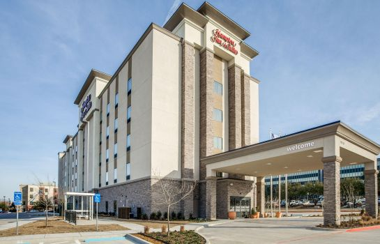 Widok zewnętrzny Hampton Inn - Suites Dallas-Central Expy-North Park Area TX