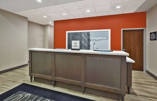 Hall de l'hôtel Hampton Inn by Hilton Detroit Dearborn MI