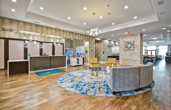 Hotelhalle Homewood Suites By Hilton Galveston