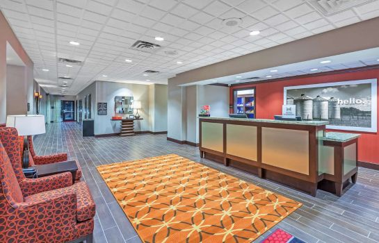 Hotelhalle Hampton Inn - Suites Houston I-10 West Park Row TX