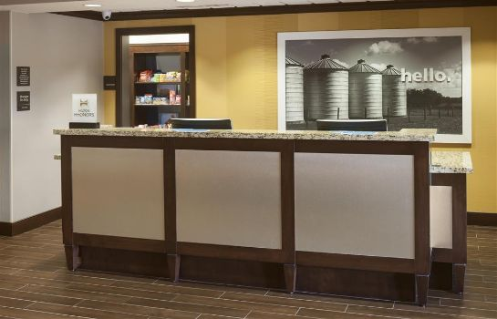 Hall de l'hôtel Hampton Inn & Suites Houston I-10 W