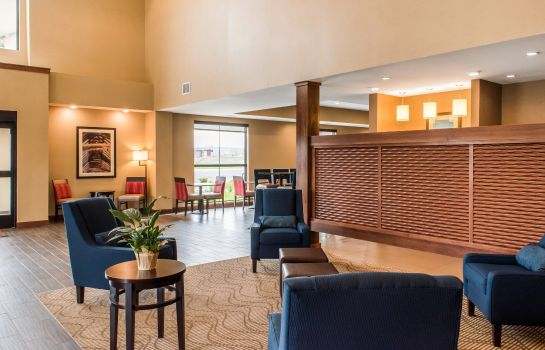 Hall de l'hôtel Comfort Suites Billings