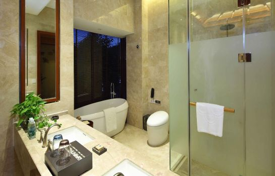 Bagno in camera Sanya Ocean Sonic Banling Hotspring Resort