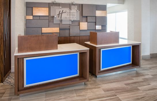 Hotelhalle Holiday Inn Express & Suites EAST PEORIA - RIVERFRONT