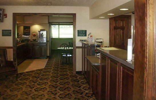 Hotelhalle Rodeway Inn & Suites Charles Town