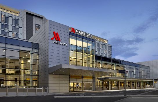 Vista exterior Calgary Airport Marriott In-Terminal Hotel