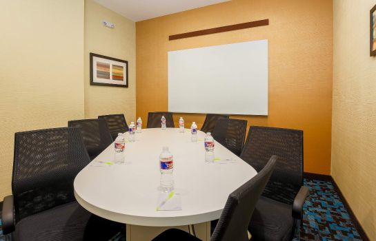 Conference room Fairfield Inn & Suites Alexandria