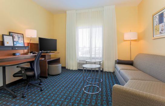 Pokój Fairfield Inn & Suites Alexandria
