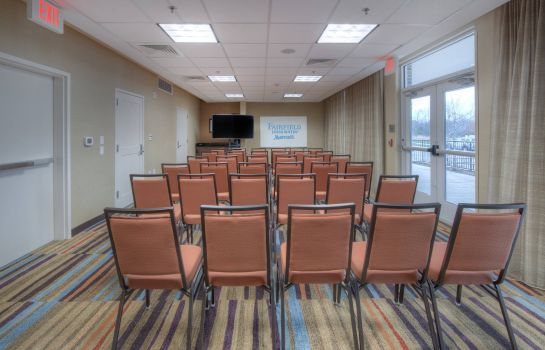 Conference room Fairfield Inn & Suites Charlotte Airport