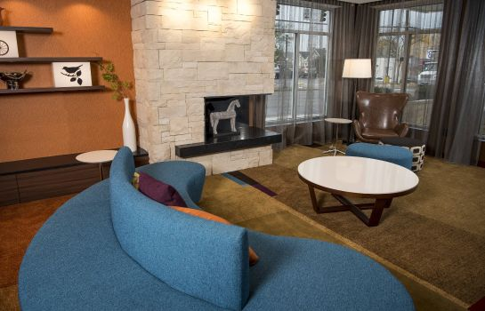 Hall Fairfield Inn & Suites Cincinnati Uptown/University Area