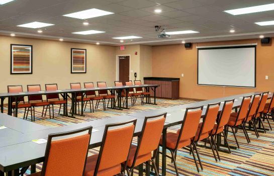 Conference room Fairfield Inn & Suites Houston Northwest/Willowbrook