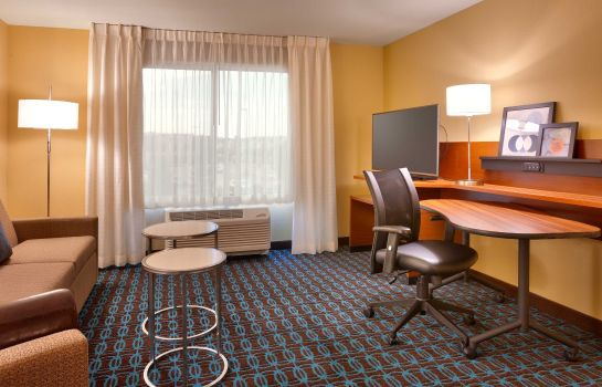 Habitación Fairfield Inn & Suites Salt Lake City Midvale
