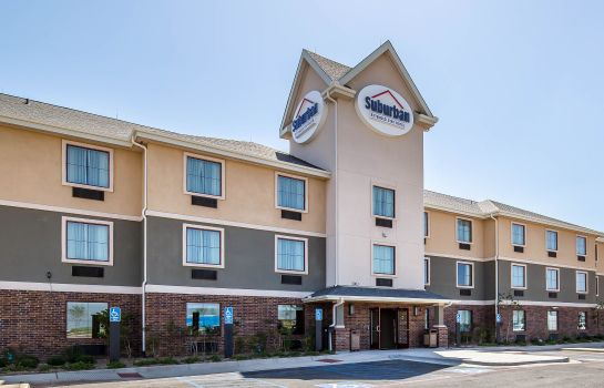 Vista exterior Suburban Extended Stay Hotel Midland
