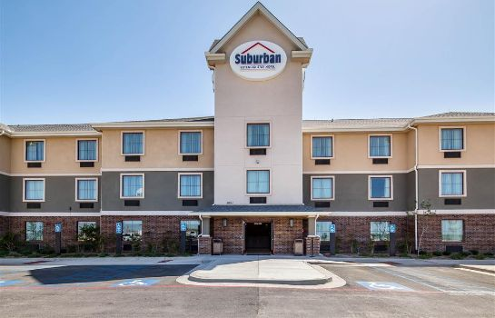 Buitenaanzicht Suburban Extended Stay Hotel Midland