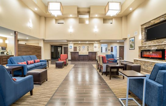 Lobby Comfort Inn and Suites Near Mt. Rushmore
