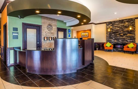 Hotelhalle Comfort Inn and Suites Moore - Oklahoma