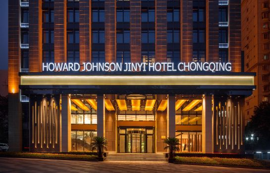 Buitenaanzicht Howard Johnson Jinyi Hotel