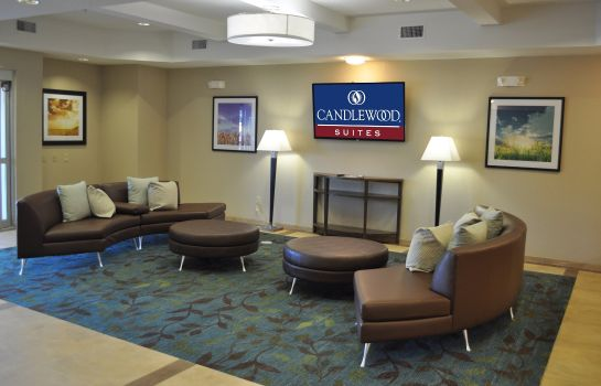 Hol hotelowy Candlewood Suites BAY CITY