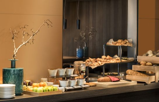Breakfast buffet Adina Apartment Hotel Frankfurt Westend
