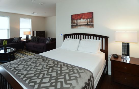 Single room (standard) Northeast Suites at Evolve East Boston
