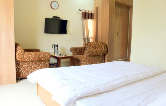Chambre double (confort) Hotel Sudarshan Palace