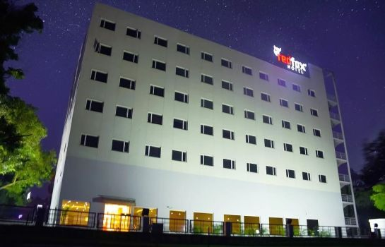 Exterior view Red Fox Hotel Chandigarh