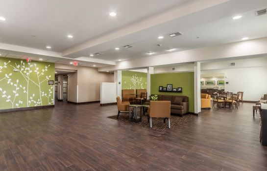 Lobby Sleep Inn & Suites College Station